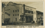 Picture of Broadway Cafe, Penang Bazaar, 257 Penang Road Tel 1578