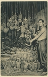 Picture of Chinese Fruit Seller, Singapore